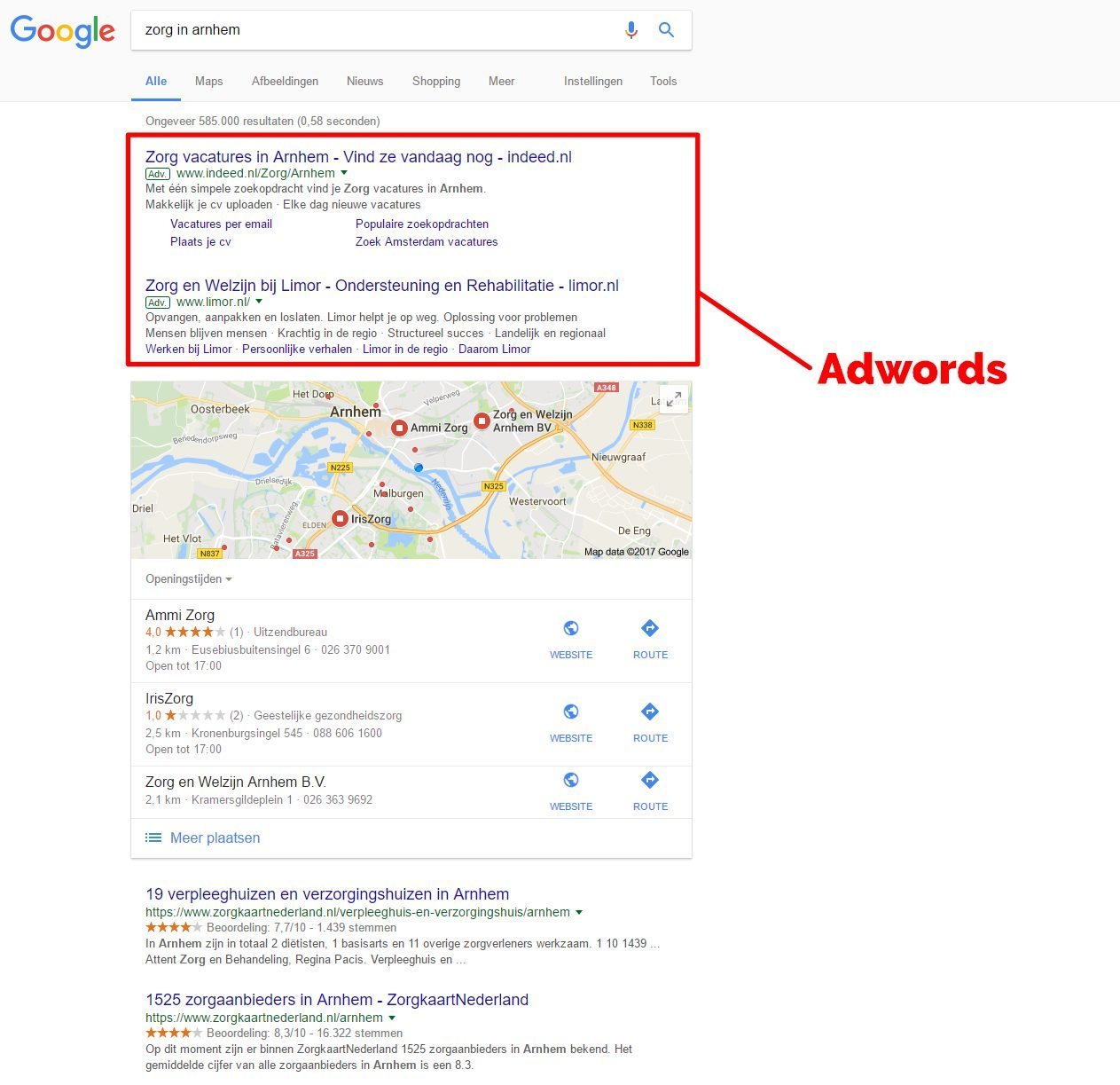 Adwords wat is sea