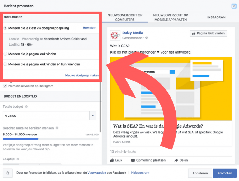 Facebook adverteren | Daizy Media blog